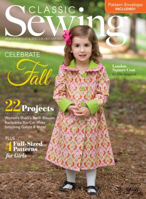 Classic Sewing Fall 2016 Issue