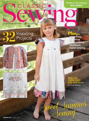 cd8830bfd Classic Sewing Summer 2016 issue - Classic Sewing Magazine