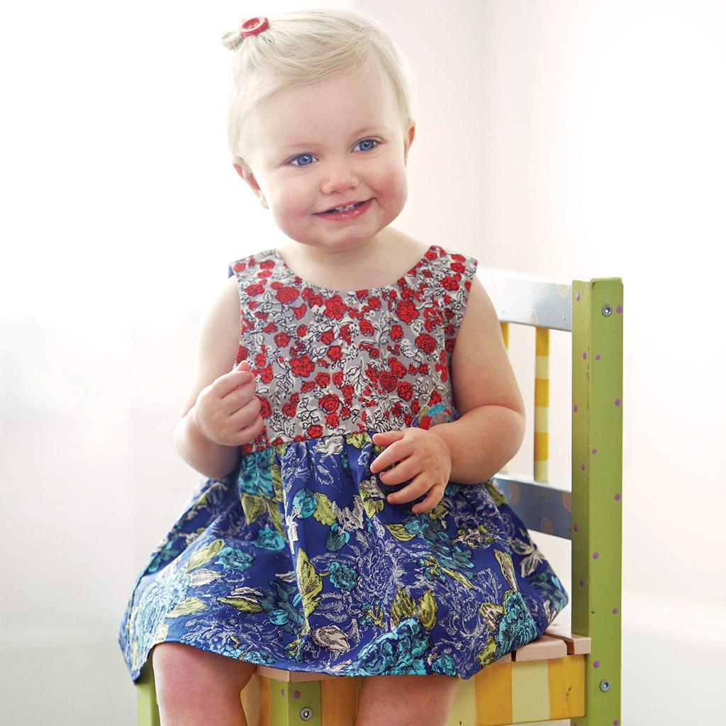 Ivy Mae Dress Blue