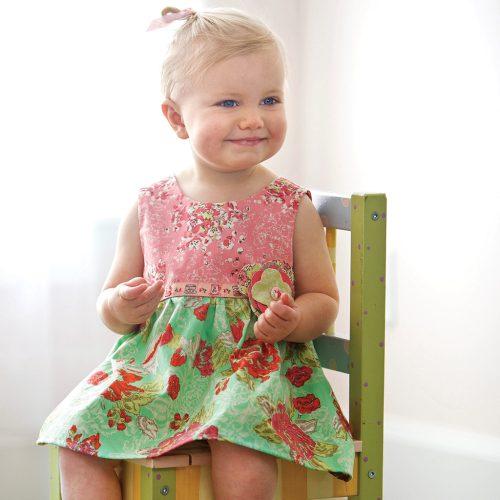 Ivy Mae Dress Mint