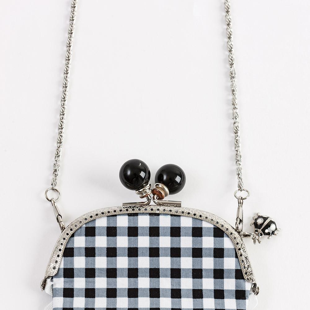 """Clip-on purse chain 45"""""""