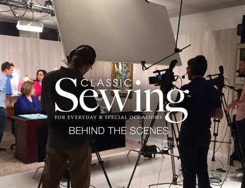 Classic Sewing Behind the Scenes