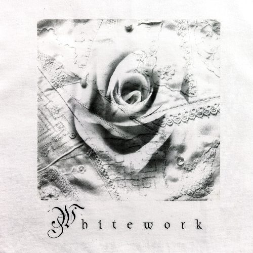 Tea Towel - Whitework Collage