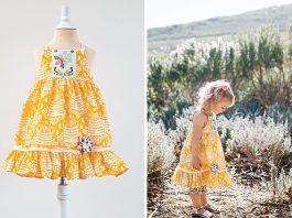 Whimsy Pinwheels Dress- Classic Sewing
