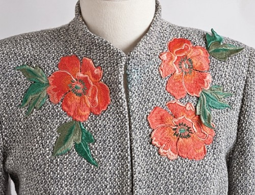 Embellished Basics Day 1: Embroidered Appliques
