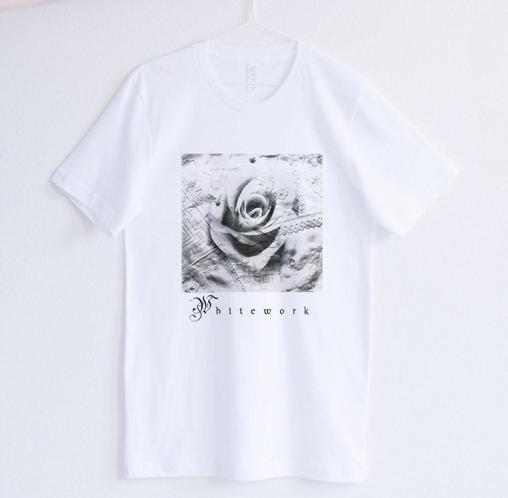 Short Sleeve - White works Collage Design