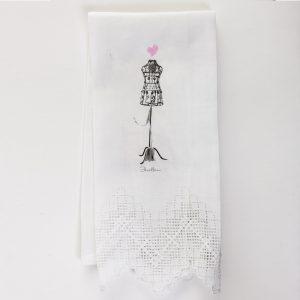 Tea Towel -Sewing Love Design