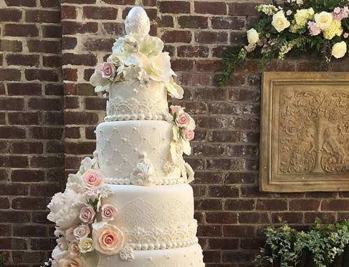 Lace, Cake and Pearls Wedding