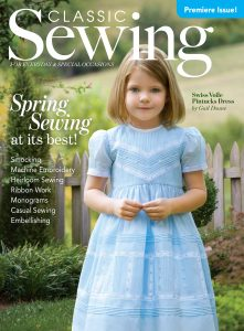 Classic Sewing Premier Spring 2016 Issue