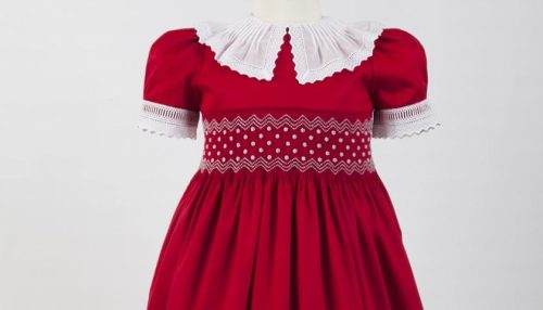 Smocked and Beaded Dress Preview 06