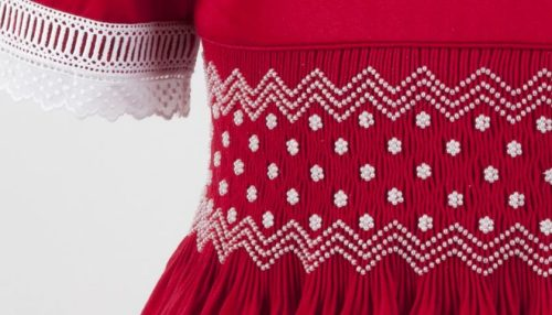 Smocked and Beaded Dress Preview 03