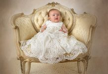 Wedding Gown to Christening Gown