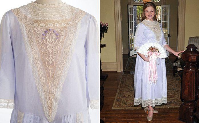 Jillian's Victorian Cotillion Dress