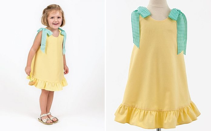 Summer Cotton Twill Dress