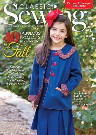 Classic Sewing Autumn 2017 cover