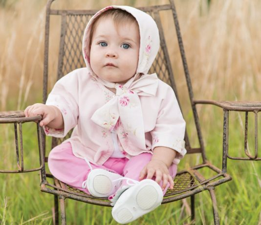 The Old Fashioned Baby Sacque and Bonnet