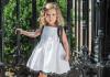 Little girl in poodle dress