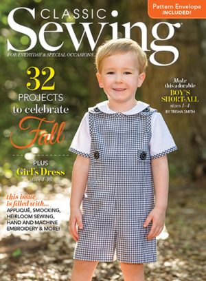 Classic Sewing Magazine Autumn 2018