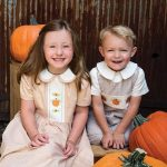 fall pumpkins boy and girl project