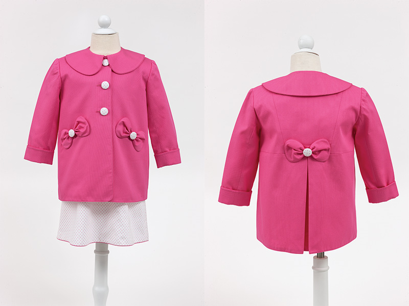 Gail Doane Piqué Jacket in Pink