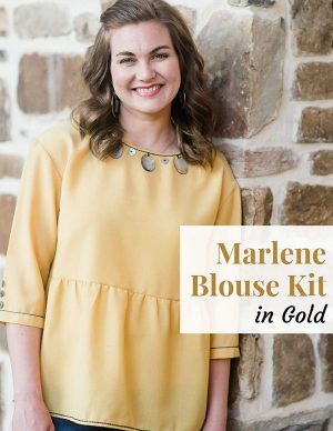 Marlene Blouse Gold Kit