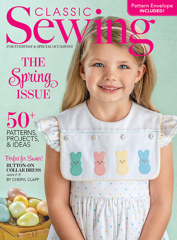 Classic Sewing Spring Issue 2020
