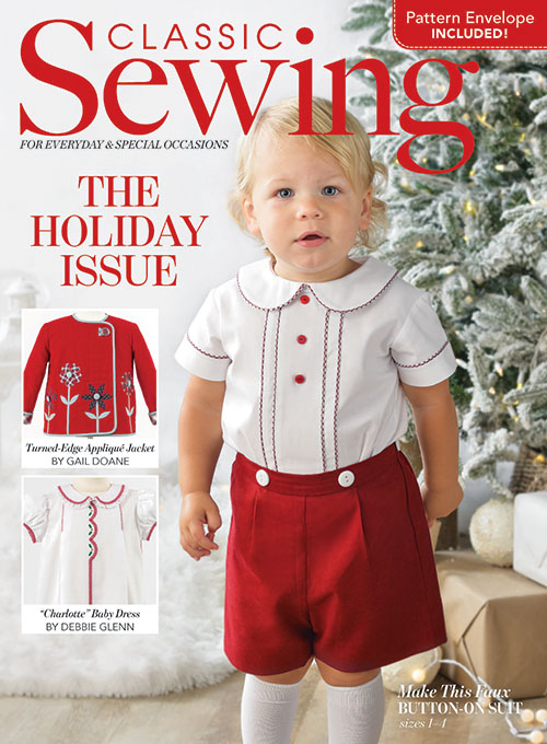 Classic Sewing Holiday 2020 Issue
