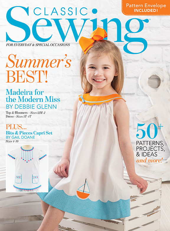 Classic Sewing Magazine Summer 2021