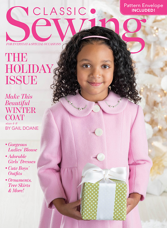 Classic Sewing Holiday Issue 2021